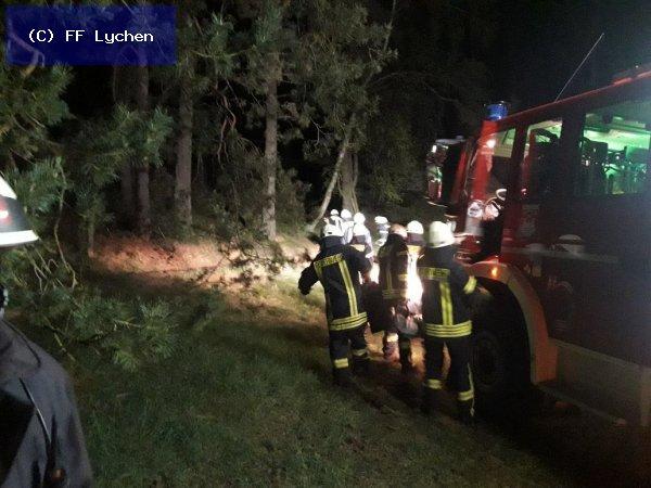 H: VU Klemm vom 23.04.2018  |  (C) FF Lychen (2018)